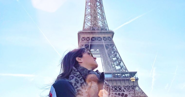 #travelonbudget : Paris mon amour!